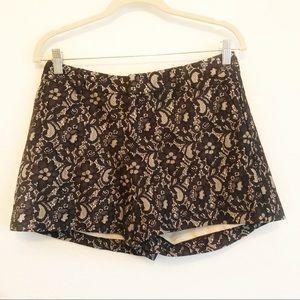 Pants - 4/$25 Black Lace Large Shorts